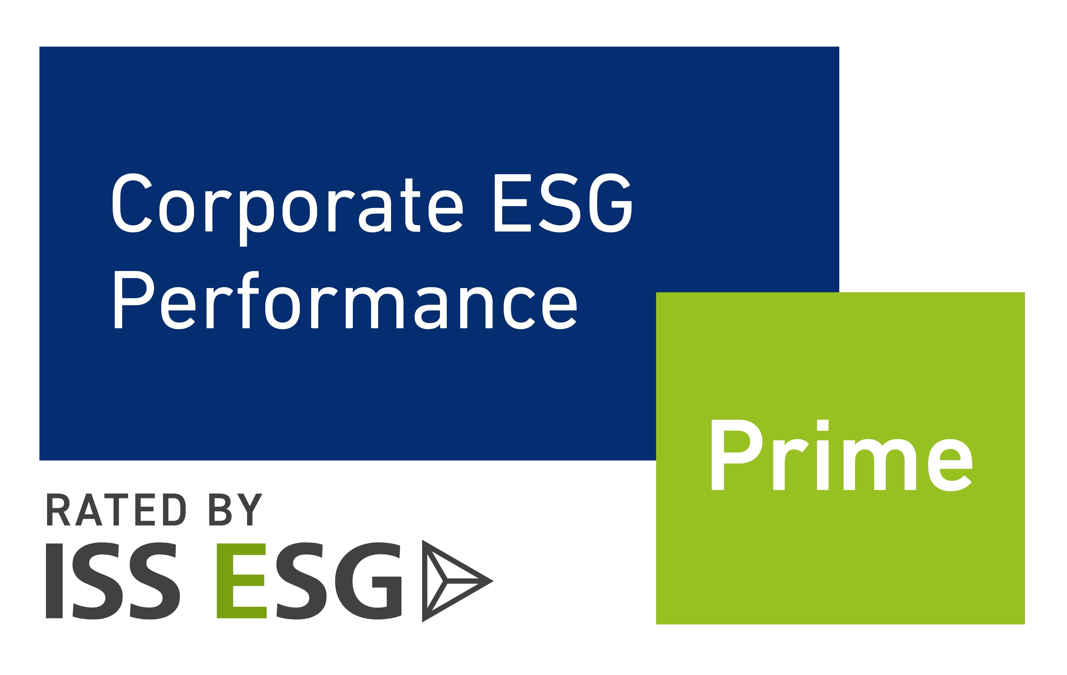 Siegel Prime Status, verliehen von der Nachhaltigkeitsratingagentur oekom research